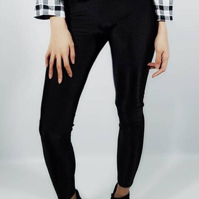 Shiny Legging - Black
