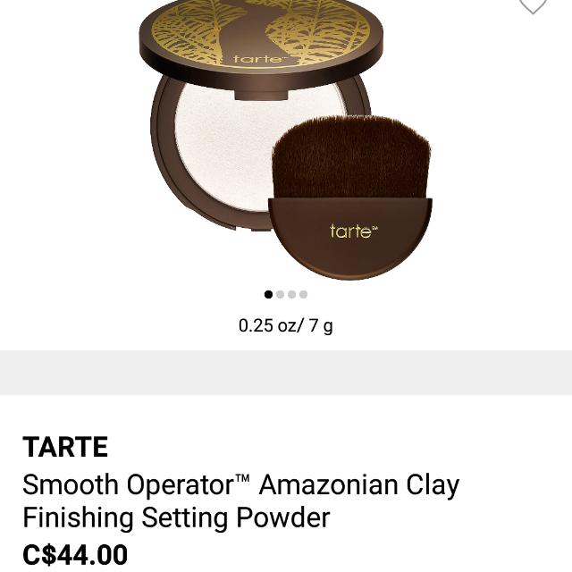 Tarte Compressed Face Finishing Powder