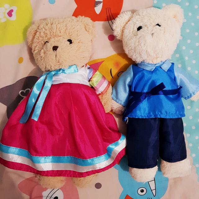 Teddy Bear Couple Korea Edition