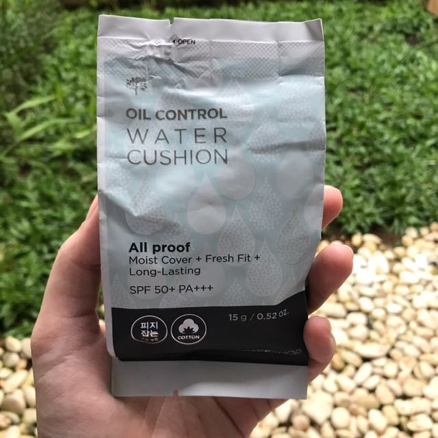 The Face Shop Oil Control Water Cushion (Refill)