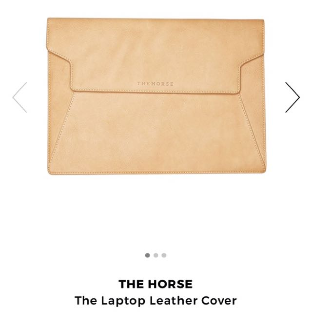 'The horse' Leather Laptop Sleeve