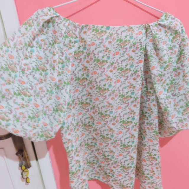 TOP FLORAL #clearancesale