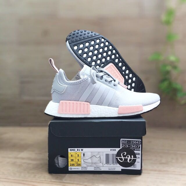 Adidas NMD R1 Clear OnixLight OnixVapour Pink Latest