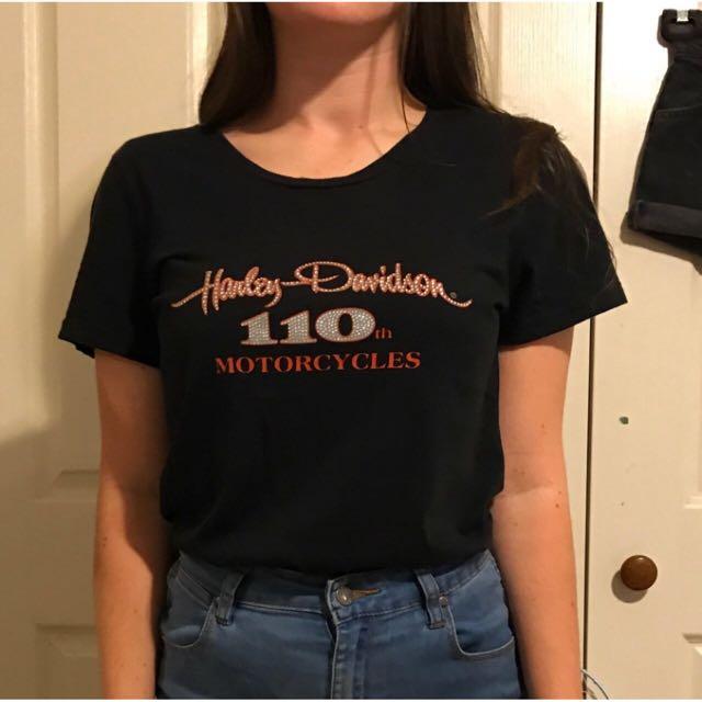 Vintage Harley Davidson Top