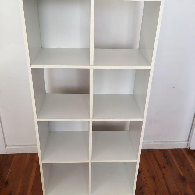 White Storage Cubes