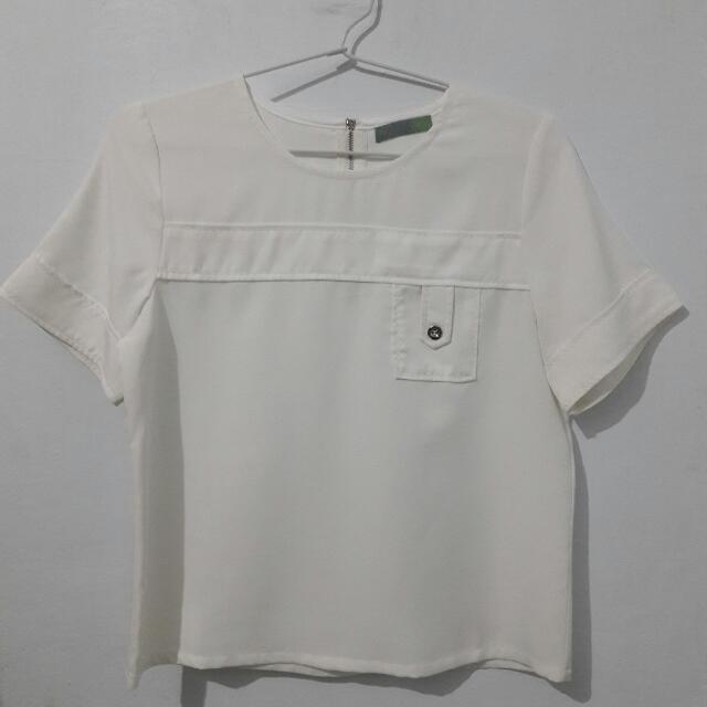 White T-Shirt by LEAF