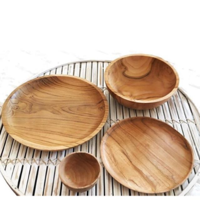 Wooden Table Ware In Sets
