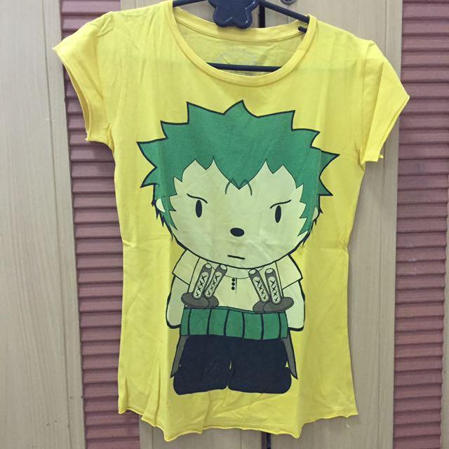 ❤️yellow t-shirt