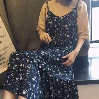 Korean Style Summer Long Dress NEW!