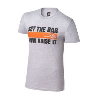 "WWE Authentic John Cena ""Set The Bar"" T-Shirt"