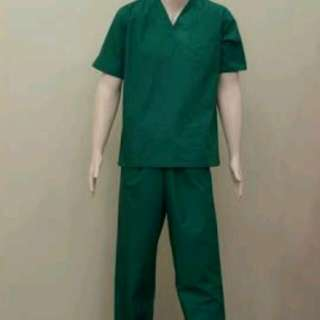 Scrub Suit Color Green
