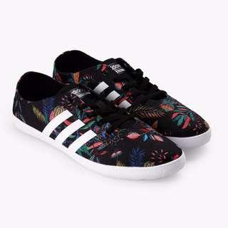 adidas Women NEO Cloudfoam QT Vulc Shoes -Floral