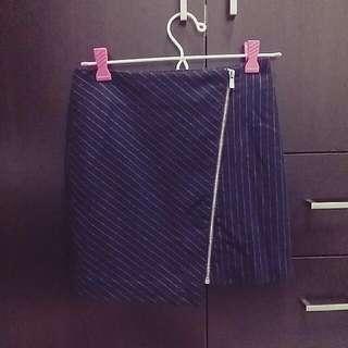 Dark Navy Blue Skirt (S)