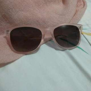 Pink Pull And Bear Sunglases