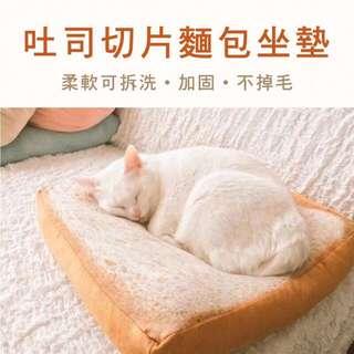 全新 正版 貓王的 吐司坐墊
