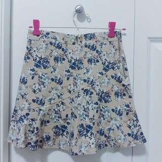 Floral Pront Skirt (S)