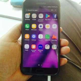 Samsung Galaxy A7 2017 32gb Black Color..