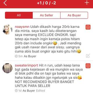 Anti buyer annoying @siwisuguss 😢