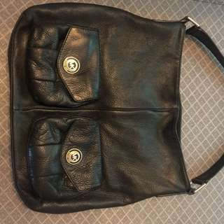 Michael Kors Pebble Black Purse