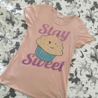 Forever 21 Stay Sweet Tee