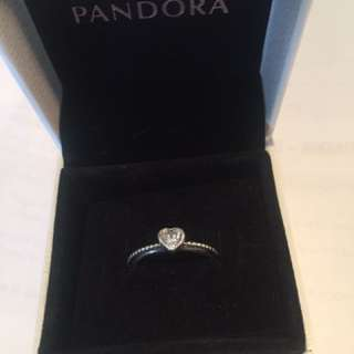 Pandora Sparkheart Ring