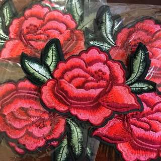 Embroidery Roses