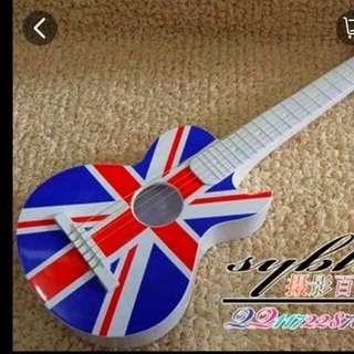 Display Guitar For Wedding Photoshot Props