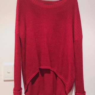 Red Sweater From Minkpink