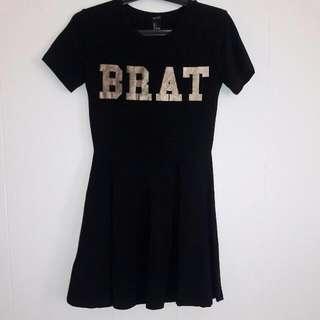 BRAT Forever 21 Dress