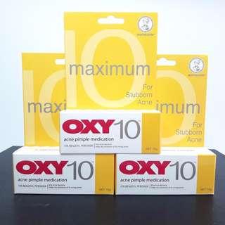 Oxy 10 Pimple Medication - Obat Jerawat - 10 gr