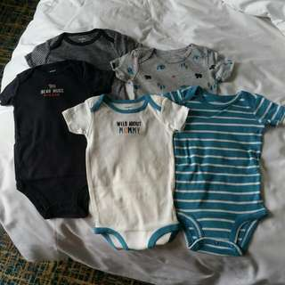 Carters Rompers For Boys
