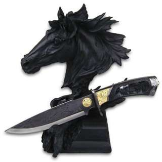 Best Selling: Decorative Knife With Horse Display Stand