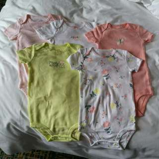 Carters Rompers For Girls