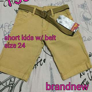 Short W/ Belt
