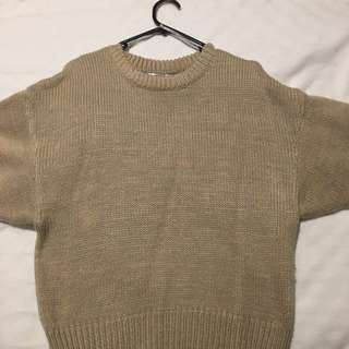 Light Brown Knit Jumper