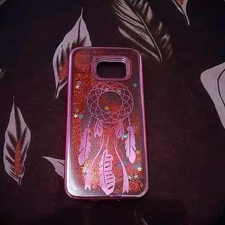 Samsung S7 Edge Dream catcher Glittery Case