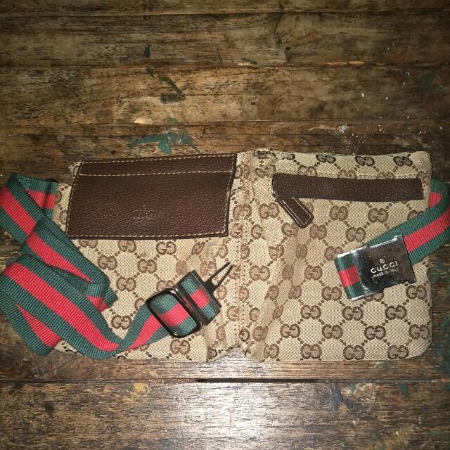 100% Authentic Gucci Original GG Belt Bag