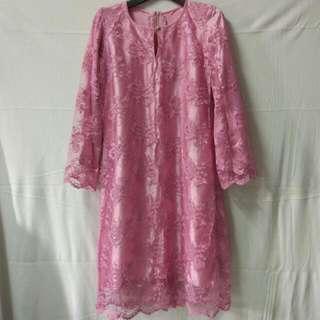 Baju Kurung Moden Lace #SJ50