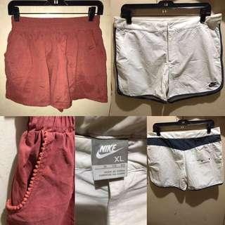 2 Shorts Bundle (1 Brand Is Nike)