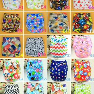 Reusable Printed Cloth Nappy Washable Daily Use