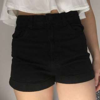 Brand New High Waisted Shorts