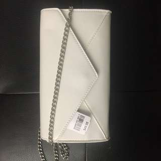 White Clutch Bag