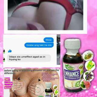 Enhance Breast Enhancer Oil