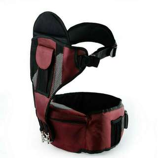 Baby Hip Seat/ front Carrier+Wrapper Set