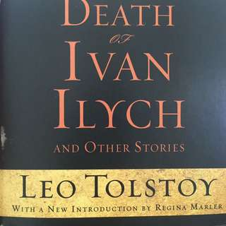 The Death Of Ivan Ilych Leo Tolstoy