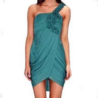 BCBG Emerald Green Cocktail Dress