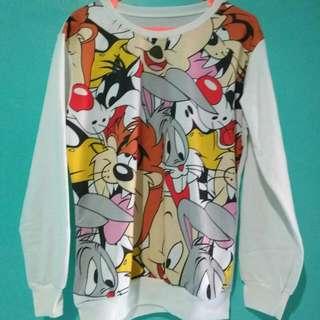 sweater looney tunes
