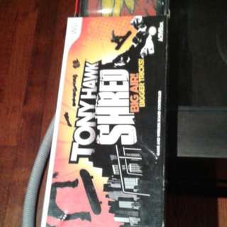 Brand New Wii Tony Hawk Shred Board.