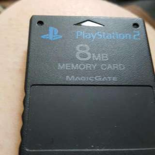 8gb Playstation2 Cards
