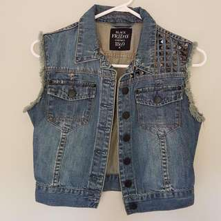Black Friday Denim Vest